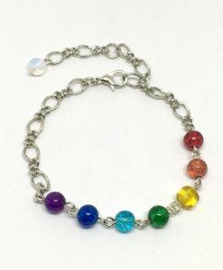Chakra chain bracelet