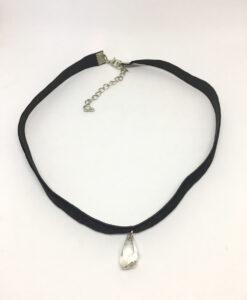 Swarovski crystal pendant choker